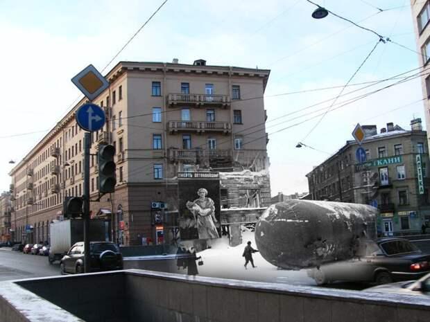 Ленинград 1942-2009 Лиговский проспект-107 блокада, ленинград, победа