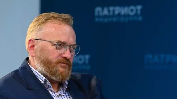 Депутат Милонов назвал бессмысленным присутствие Франции в Африке
