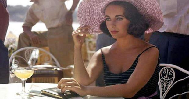 Прекрасная Элизабет Тейлор в самом расцвете: редкие фото со съемок фильма 1959года