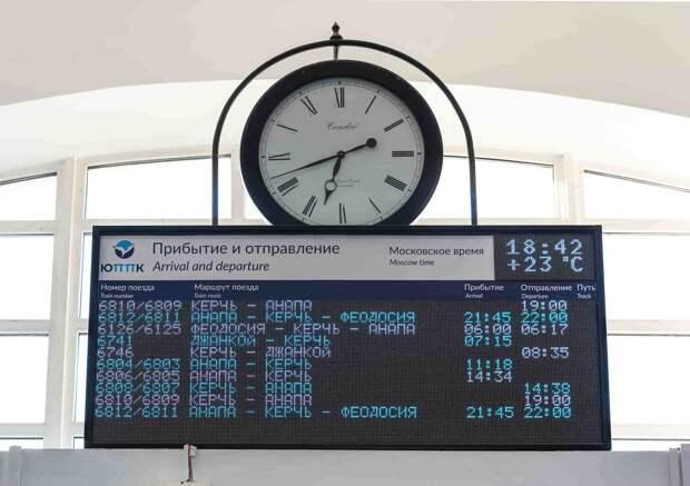 В Крыму установят новые информационные табло в начале следующего года