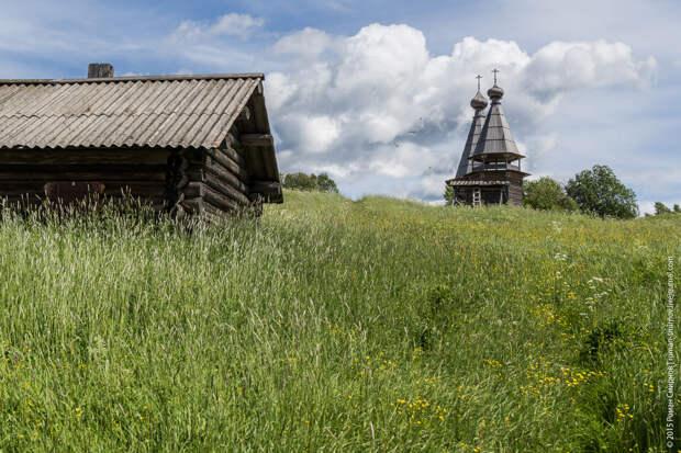 Красоты России. Кенозерье. Деревня Филипповская. Почозерский погост.