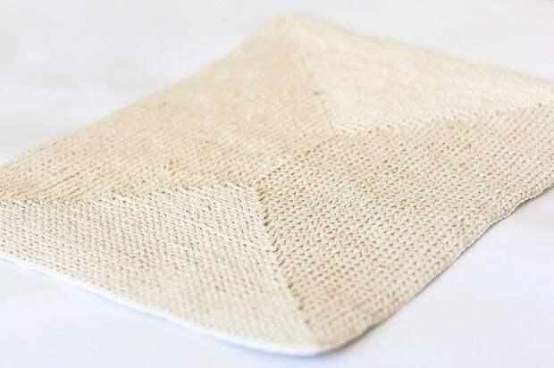 как связать ажурный коврик