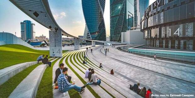Собянин назвал сроки реализации проекта развития «Большого Сити»/Фото: Евгений Самарин mos.ru