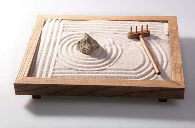 Японский сад камней на даче может создать не каждый, а его миниатюрная версия доступна всем