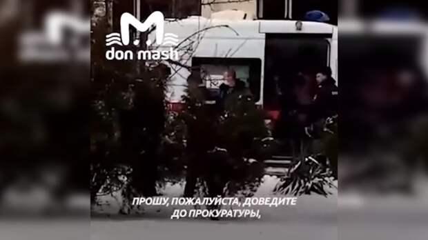 Устроивший самосожжение всуде вВолгодонске заявил, что его оговорила проститутка