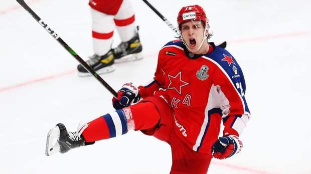 ЦСКА выиграл у «Локомотива» во 2-м матче четвертьфинала Кубка Гагарина. Счет в серии стал 1-1