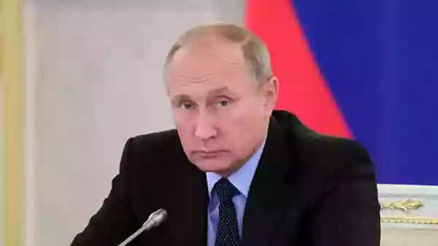 Путин прокомментировал санкции США против России