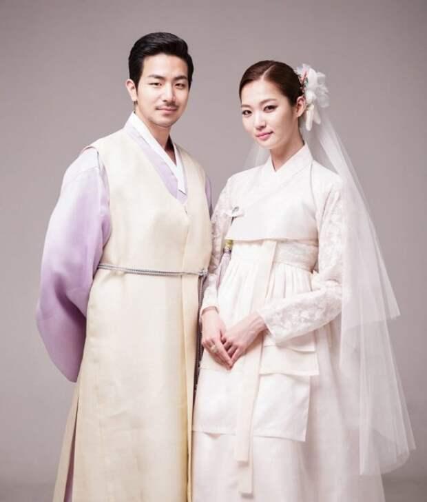 Национальные свадебные наряды Кореи