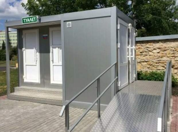 Бесплатный стационарный туалет появится в парке Юного зрителя