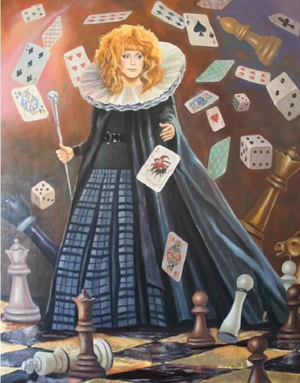 Женщина- тайна: Примадонна в живописных образах на полотнах художников