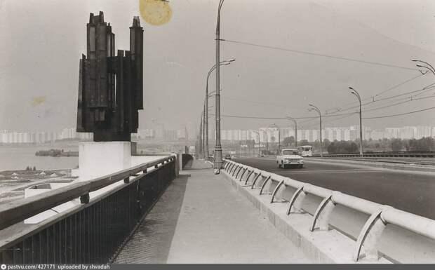 Фото дня: Строгинский мост в советское время