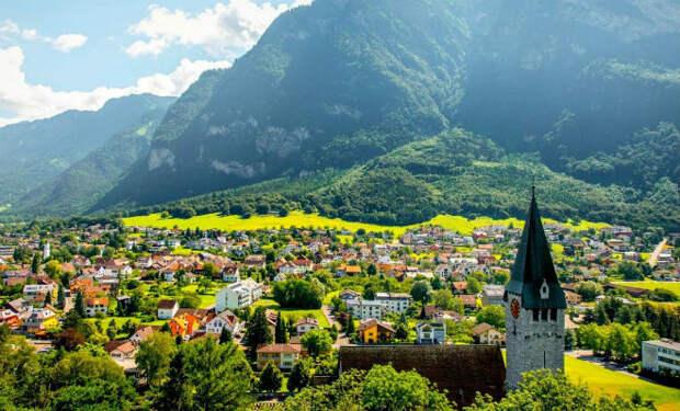 Лихтенштейн: сказочно богатая страна без своей валюты и языка