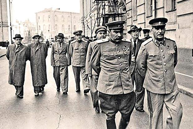 Буденный С.М. и Сталин И.В.