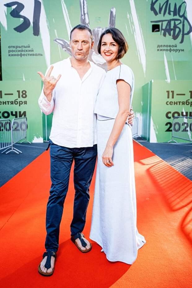 Анатолий Белый с супругой Инессой