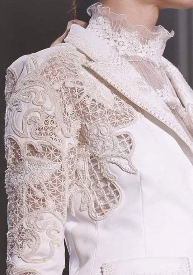 Просто потрясающая вышивка!