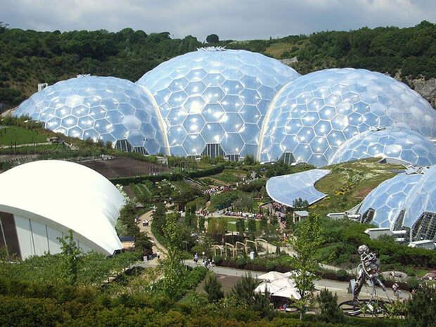 Проект «Эдем» — Ботанический сад, Великобритания