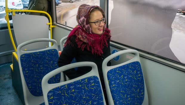 Два автобуса среднего класса начнут курсировать по маршруту №2 в Подольске