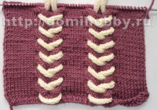 Вязание шнуров спицами. Декор одежды шнурами