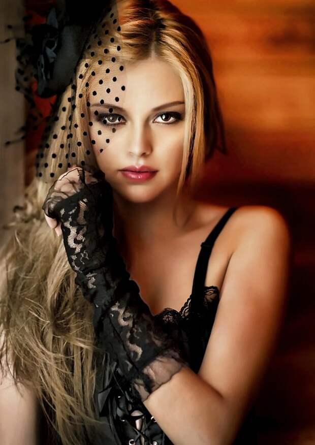 Гламурные портреты юных красавиц