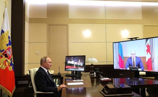 Глава Удмуртии представил президенту России оптимистичный прогноз развития республики