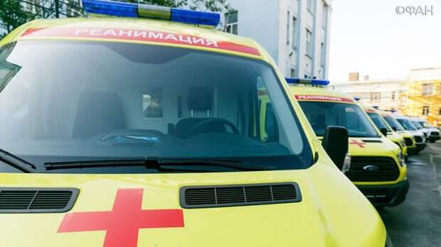 Штукатур упал с девятого этажа во время строительных работ в Петербурге