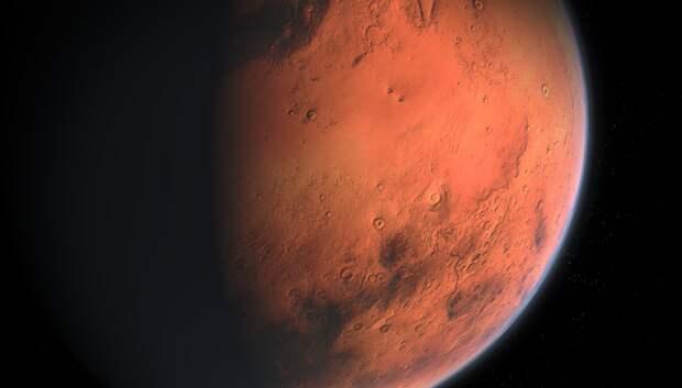 Сближение Марса и Урана произойдет на вечернем небе 13 февраля