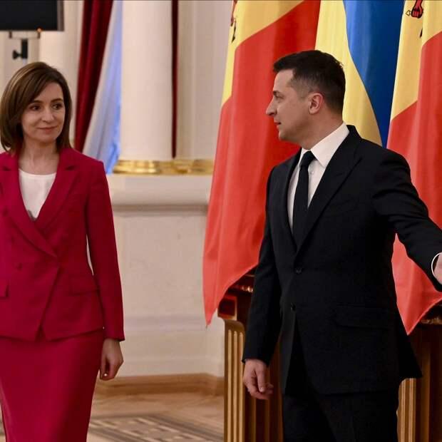 Визит Майи Санду в Киев перерос в «стратегическое партнёрство»