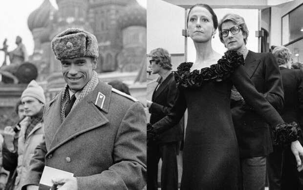 Марлен Дитрих, Арнольд Шварценеггер и другие иностранные звезды, посещавшие СССР