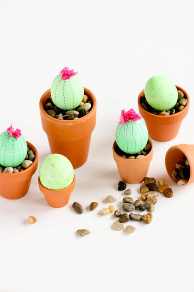 Очень милое и креативное украшение для пасхальных праздников. /Фото: deliacreates.com
