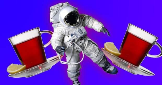 Российские космонавты обнаружили утечку с помощью пакетика чая