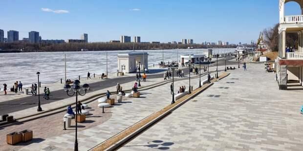 Первое судно с причала Северного речного вокзала отправится 28 апреля