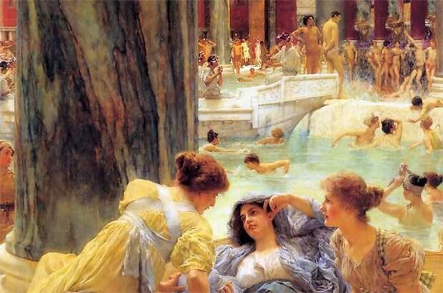 Ванны и души. История о том, как люди стали мыться