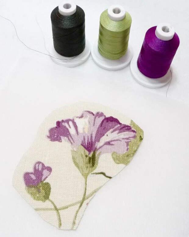 Свободно-ходовая вышивка: Материалы