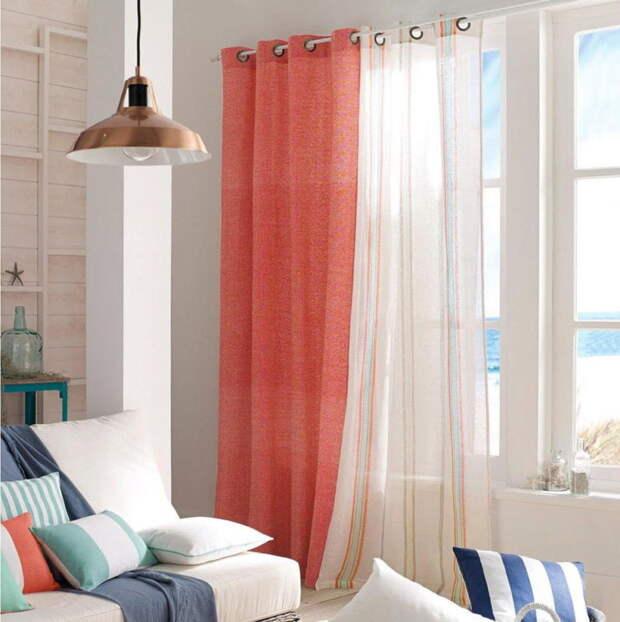 Современные шторы – идеи и дизайнерские хитрости