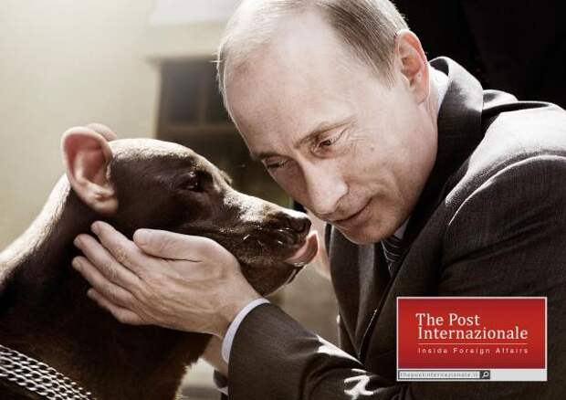 Putin, The Post Internazionale , Lowe Pirella Fronzoni, Печатная реклама