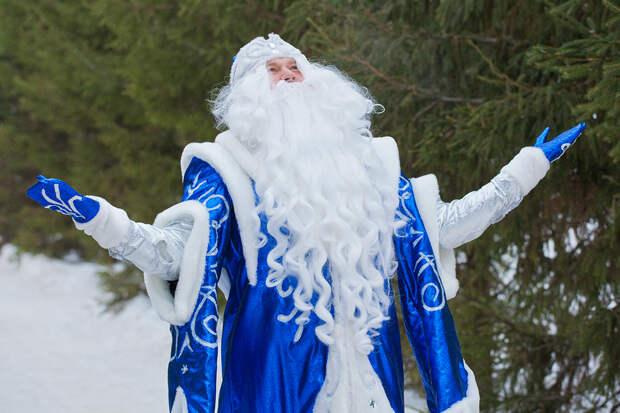 Дед Мороз расколол Украину на два лагеря