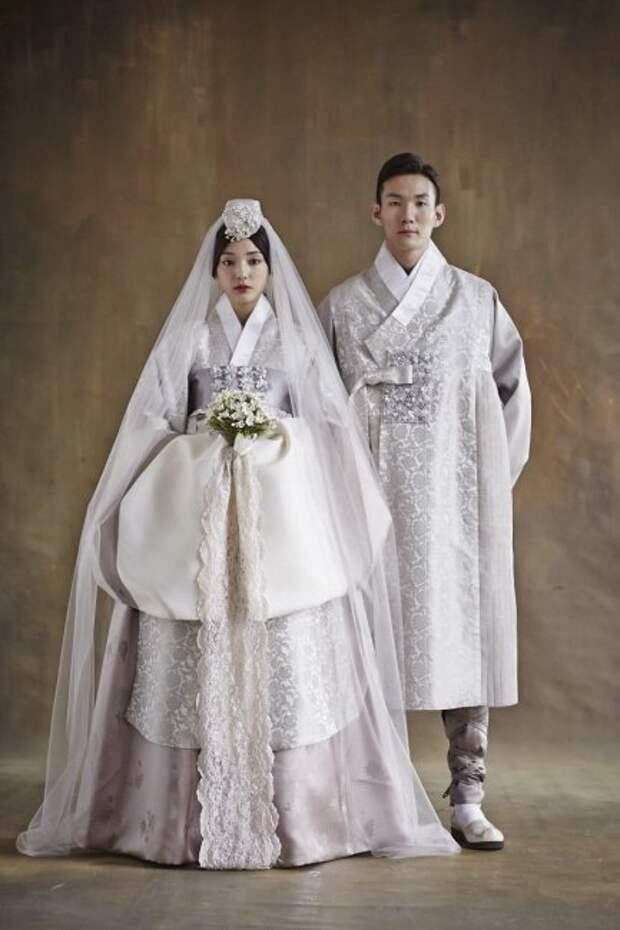 Свадебный ханбок