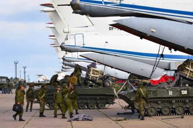 Самолёты ВКС РФ начали переброску сил в самую горячую точку Сирии