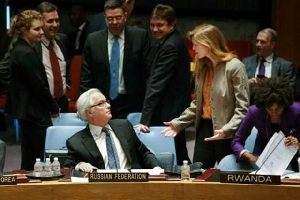 Чуркин в ООН