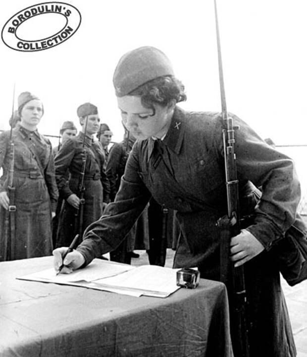 Женщины времен Великой Отечественной (27 фото)