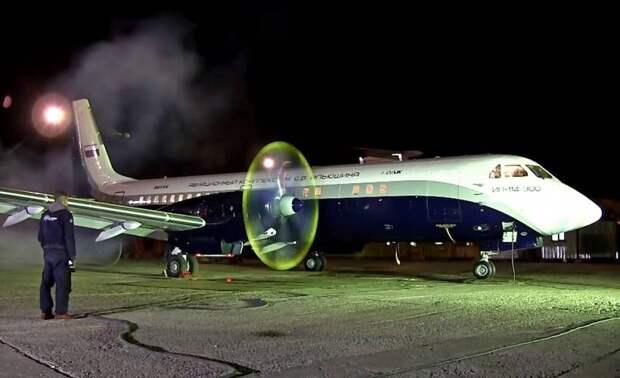 Перспективный российский лайнер Ил-114-300 готовят к первому полету