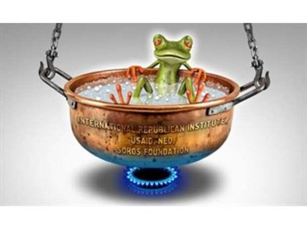 Нетрадиционная война, или Когда лягушку варят на медленном огне