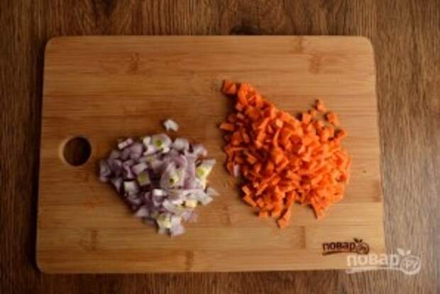 Пшенный суп с грибами - фото шаг 3