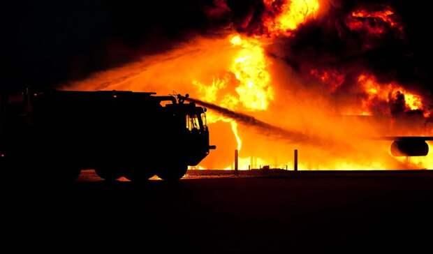 Пофакту гибели 5 детей при пожаре вСвердловской области возбуждено уголовное дело