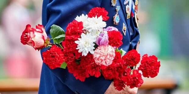 Собянин дистанционно обратился к ветеранам Москвы по случаю 75-летия Победы