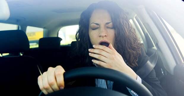 Внимание водителям! Эти способы помогут побороть сонливость во время вождения
