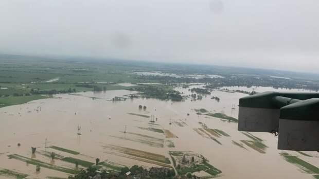Наводнения на Западной Украине