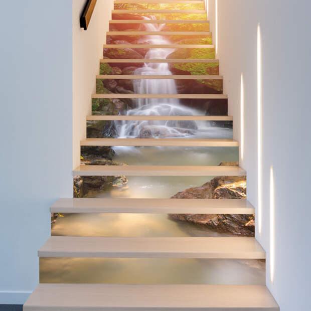 Идея: ошеломительный вид лестниц