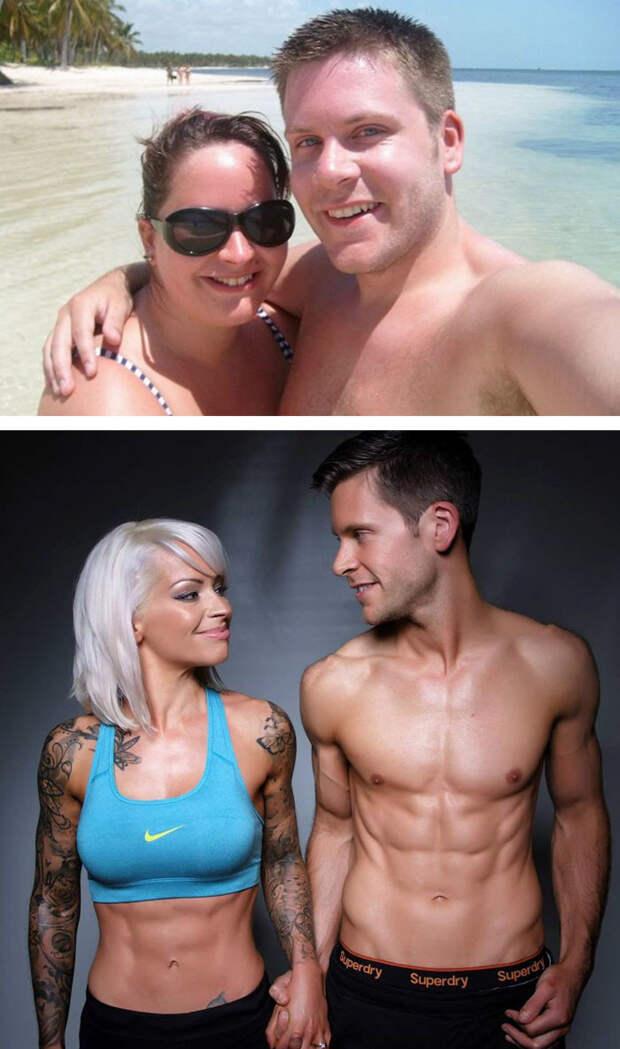 2. Решили привести себя в форму перед свадьбой и им это удалось!  похудение, результат