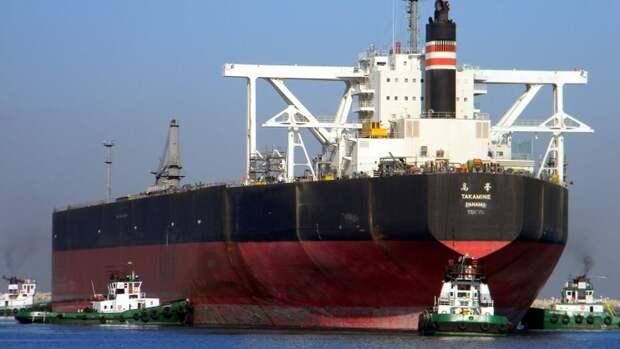 Космических высот достигли цены натанкерную перевозку нефти